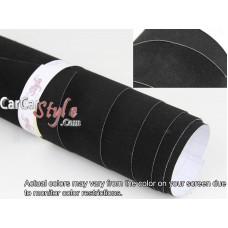 Velvet Vinyl Wrap Black